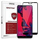 OMOTON Huawei P20 Pro (6.0 Pouces) Film Verre Trempé [Couvir l'écran Complèt] [sans Bulles]...
