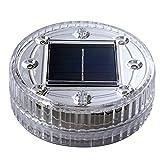 Merssavo 1x Luces LED Sumergibles Cambio de Luces Submarinas a Prueba de Agua Alimentado por Batería con Controlador para Acuario, Base de Florero, Fuente de piscina (Verde)