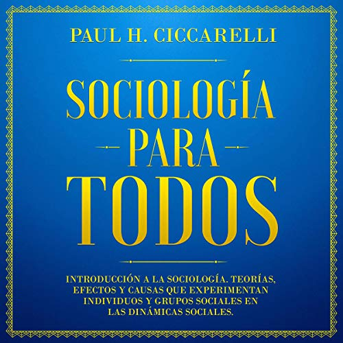 Sociología para todos [Sociology for Everyone] audiobook cover art