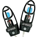 JJ CARE UV Shoe Sterilizer w/Fan, 2-in-1 UV Shoe Sanitizer and Dryer, Odor Eliminator, Fits Any Shoe Size - Boot Sterilizer - GIoves & Hat Sterilizer, Car Sterilizer with Auto Shutoff, Infrared Sensor