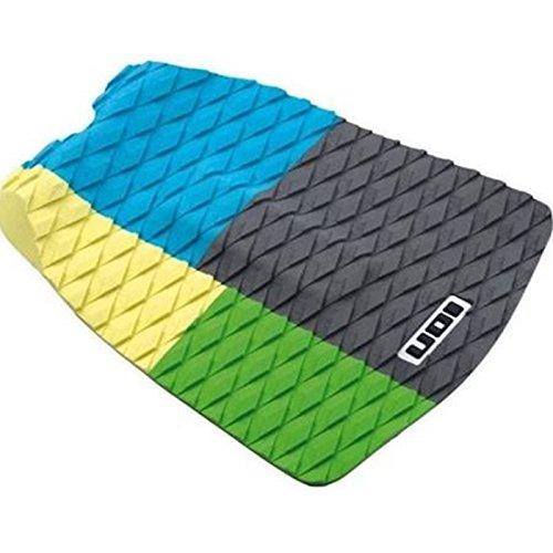 Litio footpad Deck Grip 1piezas) Azul/Amarillo/Verde onda Jinete Surf Kite tarjeta Pad