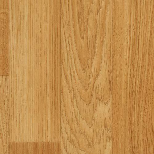 Vinylboden PVC Bodenbelag | Holzoptik Schiffsboden Eiche hell natur | 200, 300 und 400 cm Breite | Meterware | Variante: 7 x 2m
