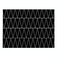ランチョンマット 4枚セット おしゃれ 北欧 綿とリネン プレースマット 黒い波線 ランチマット 布 華やか卓上飾り 高温耐性滑り止め防しわ 西洋料理マット コーヒーマット家庭 レストラン 用 贈り 32X42cm