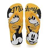 Havaianas Top Disney, Chanclas Unisex Adulto, Multicolor (Banana Yellow), 33/34 EU