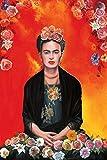 Frida Kahlo Poster Meditation