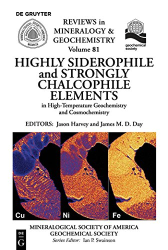 Highly Siderophile and Strongly Chalcophile Elements in High-Temperature Geochemistry and Cosmochemistry (Reviews in Mineralogy & Geochemistry Book 81) (English Edition)