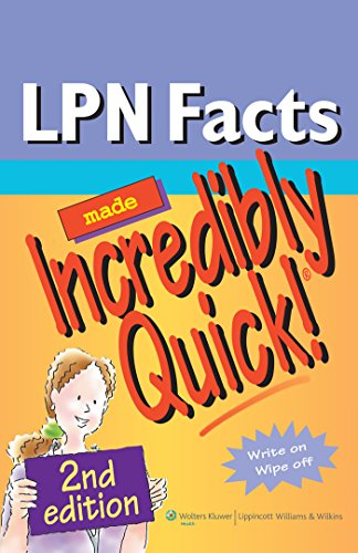 LPN Facts Made Incredibly Quick! (Incredibly Easy! Series®)