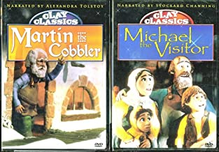 Clay Classics: Martin The Cobbler & Michael The Visitor - 2 Clay Animation DVDs For Kids & Family In Set