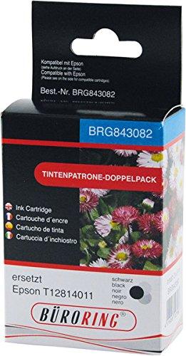 Dual Pack schwarz für EPSON Stylus S22, SX230, SX235, SX425