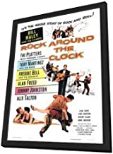 Rock Around the Clock - 27 x 40 Framed Movie Poster
