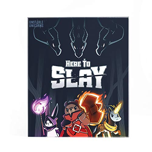 TeeTurtle Here to Slay Base Game - from The Creators of Unstable Unicorns - A Strategic Card Game...