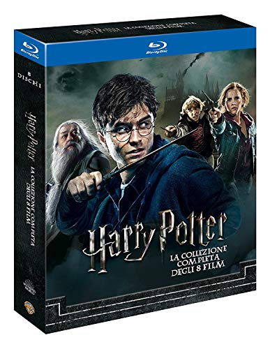 Harry Potter 1-7.2 - Complete Collection 8 Filme [Blu-ray] [Italien Import mit deutscher Sprache]