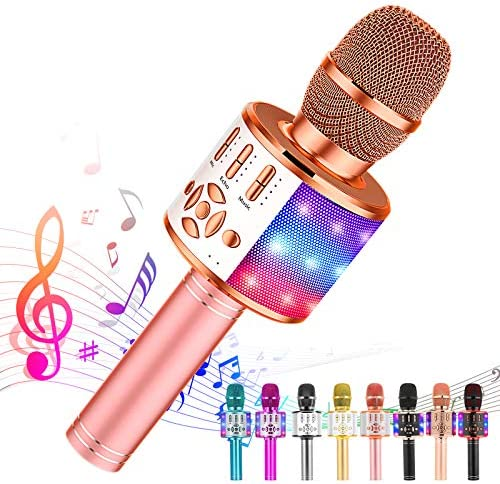 Ankuka Karaoke Wireless Microphone Bluetooth for Kids Portable 4 in 1 Karaoke Machine Speaker product image