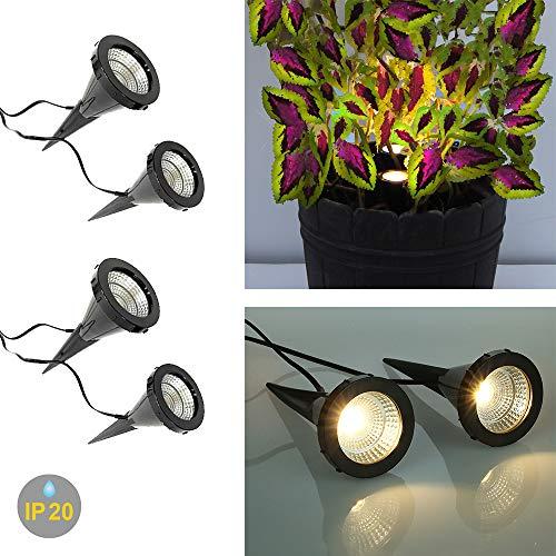 2 x 2 LED-Pflanzen-Strahler