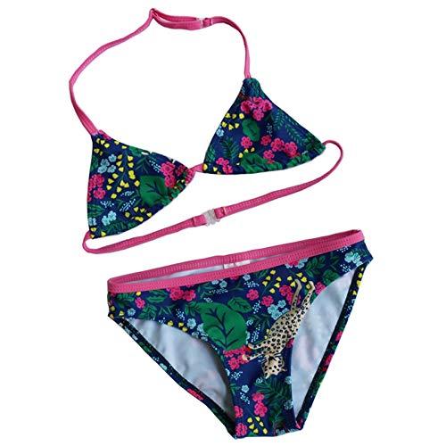 GUOZI Bikini Meisjes Halter Bikinis Zomer Meisje Twee Stukken Zwempakken Kinderen Badpakken Gedrukte Bikini Meisjes Strandkleding Kids Badpakken