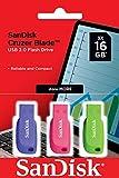 SanDisk 16GB Cruzer Blade USB-Flash-Laufwerk 3-pack