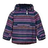 Color Kids Jacket AOP-Stripe Chaqueta aislada, Rosa Fucsia, 92 para Bebés