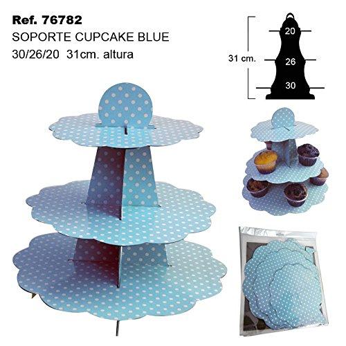Sini Soporte para Cupcake Blue