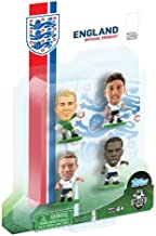 SoccerStarz England International 4 Figurine Blister Pack Featuring Hart/ Jones/ Lallana/ and Sturridge in England's Home Kit