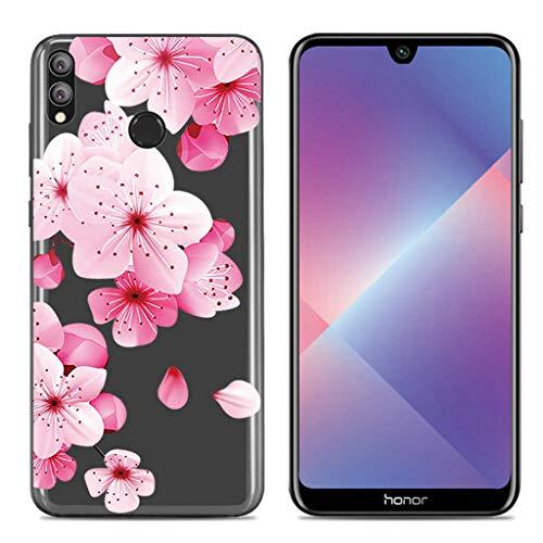 Litao-Case LLM Custodia per Huawei Honor 8X JSN-LX3 JSN-L23 Custodia TPU Morbido Silicone Case Cover 14