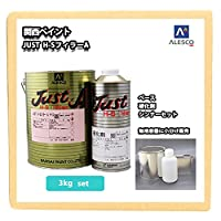 ノンサンディング! JUST H-S フィラー A 3kgセット(シンナー硬化剤付)/自動車用ウレタン塗料 カンペ ウレタン 塗料 サフェーサー プラサフ ハイソリッド・ノンサンドプラサフ! (3kgセット)