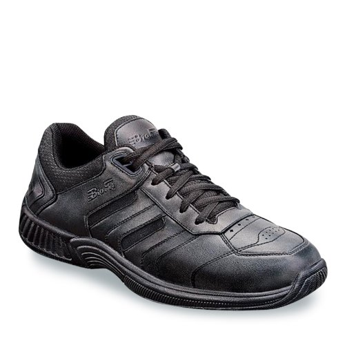Orthofeet Proven Foot Heel and Foot Pain Relief. Extended Widths. Best Orthopedic Athletic Shoes Diabetic Men's Sneakers Pacific Palisades Black