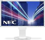 NEC Multisync EA244UHD 60,5cm (23 Zoll) Monitor (DVI, HDMI, USB, DisplayPort, 5ms Reaktionszeit) weiß