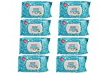 The Original NeatCheeks Natural Flavored Baby Face Wipes for Sensitive Skin - As seen on Shark Tank! (8 Packs of 25)