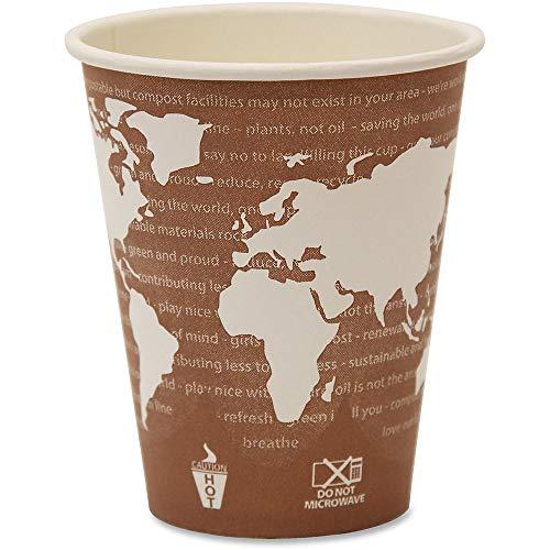 ECOEPBHC8WA - ECO-Products,INC. World Art Renewable Resource Compostable Hot Drink Cups