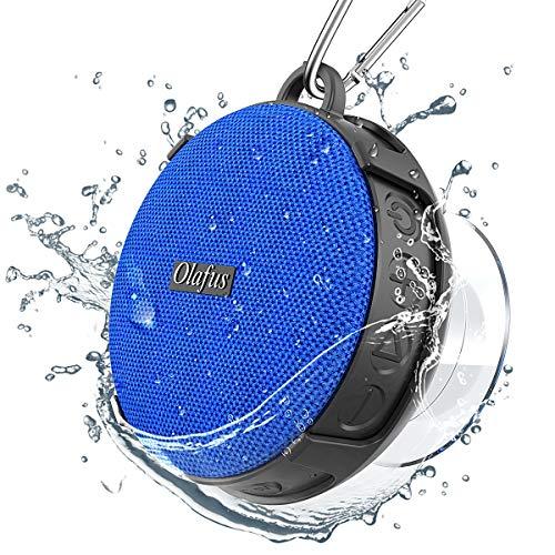 Olafus Altavoz Bluetooth Ducha, IPX7 Impermeable con Ventosa Desmontable,...