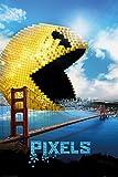 GB Eye 61x 91,5cm Pacman Pixel Maxi Poster, Mehrfarbig
