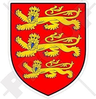 ENGLAND English Coat of Arms Badge Crest 3 Lions UK British 97mm (3.9