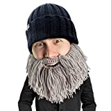 Beard Head Barbarian Vagabond Beanie, Grey, One Size