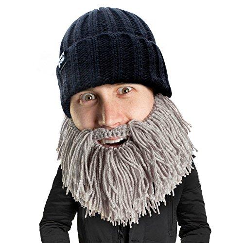 Price comparison product image Beard Head Barbarian Vagabond Beanie,  Grey,  One Size