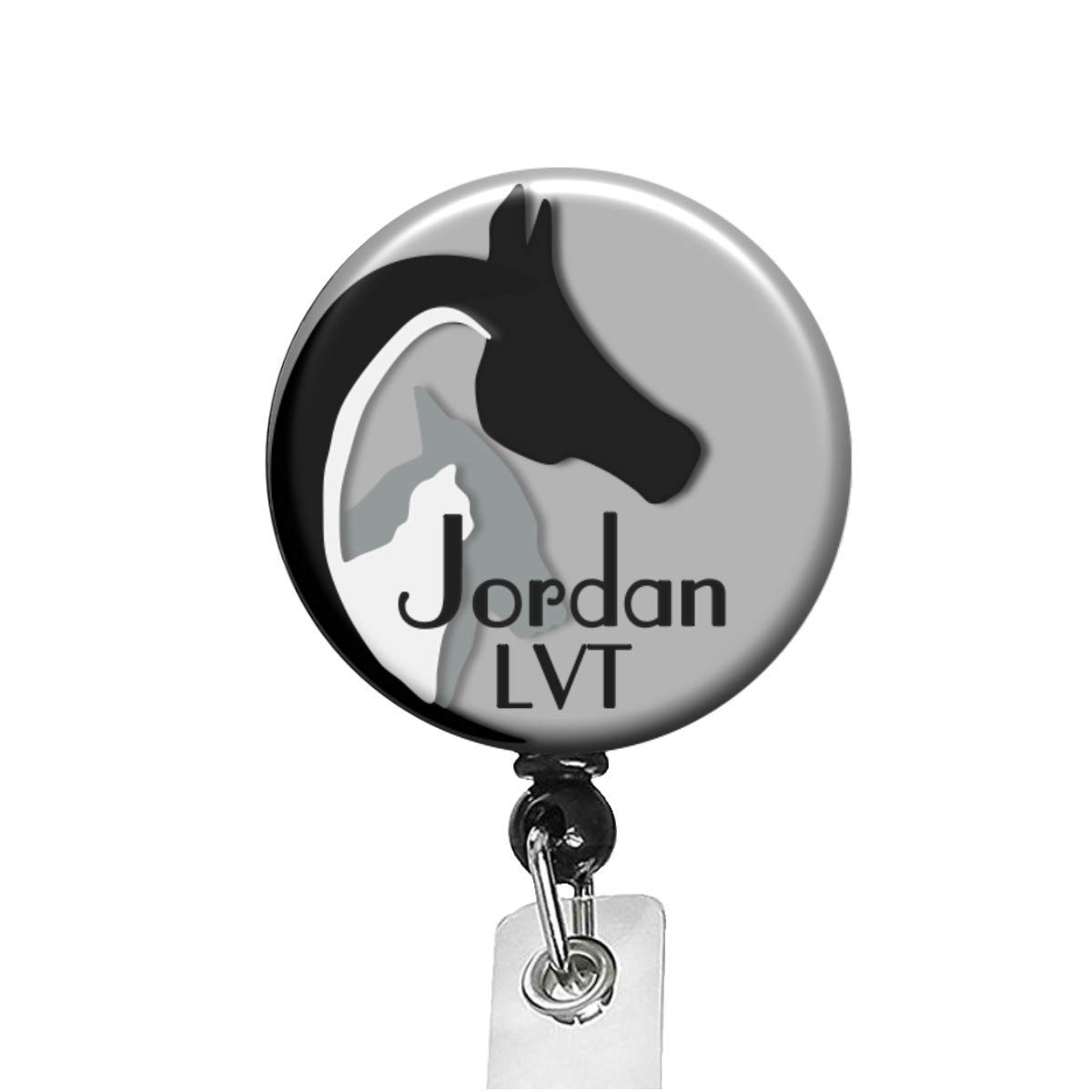 Animal Lover Badge Many popular brands Reel Limited Special Price 8 Colors Lanyard Hold - Retractable Id