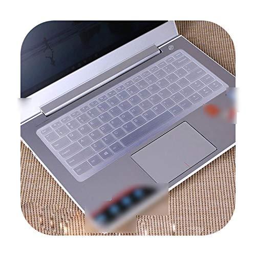 TOIT - Funda protectora para teclado de ordenador portátil Lenovo Yoga 510 (14') 510-14Ikb 510-14Isk 510-14Ast 510 14Ikb 14Isk 14Ast 710 14Isk-Transparente