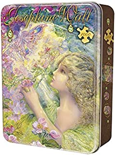 MasterPieces Sweet Briar Rose Collectible Jigsaw Puzzle Tin, Art by Josephine Wall, 1000-Piece
