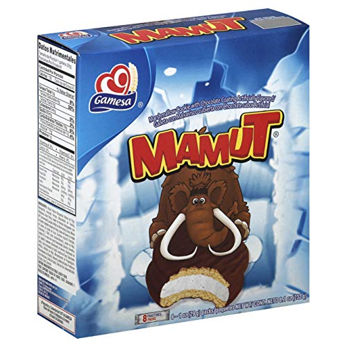 Mamut Marshmallow Cookie With Chocolate Coating