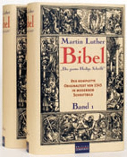 Die Bibel: Die gantze Heilige Schrift