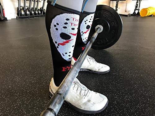 Top Tech - Calcetines para Crossfit y Weightlifting, 39-42