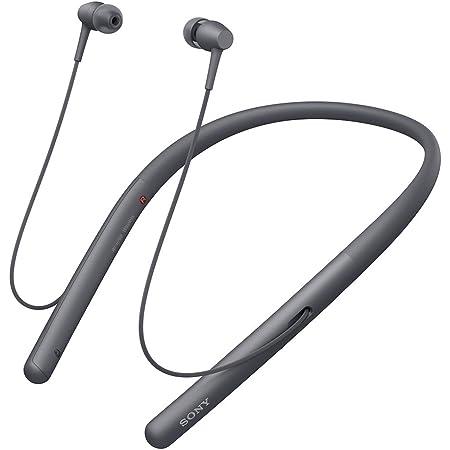 ソニー ワイヤレスイヤホン h.ear in 2 Wireless WI-H700 : Bluetooth/ハイレゾ対応 最大8時間連続再生 カナル型 マイク付き 2017年モデル 360 Reality Audio認定モデル グレイッシュブラック WI-H700 B
