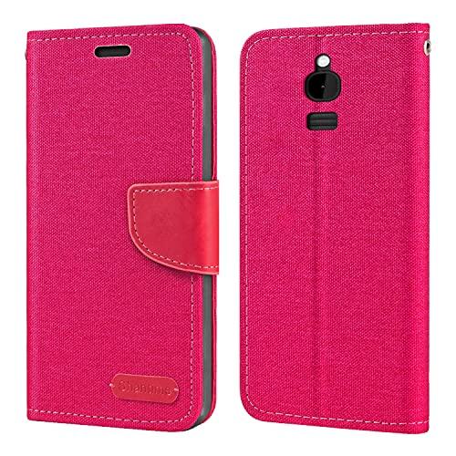 Nokia 8110 4G Hülle, Oxford Leder Wallet Hülle mit Soft TPU Back Cover Magnet Flip Hülle für Nokia 8110 4G