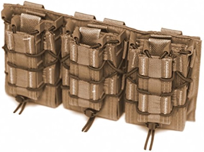 LBX TACTICAL Triple HSGI Taco Modular Panel, Coyote Brown