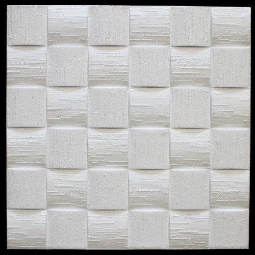 Panelen voor plafond Eps vorm stabiel Marbet 50 x 50 cm 40 M ²/160 Vassoi Wit