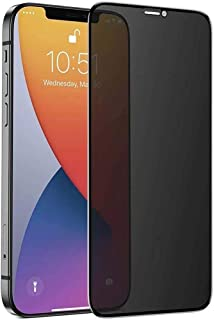 Apple iPhone XS Max (6.5) Full Cover Black Privacy Tempered Glass Screen Protector For iPhone XS Max Black