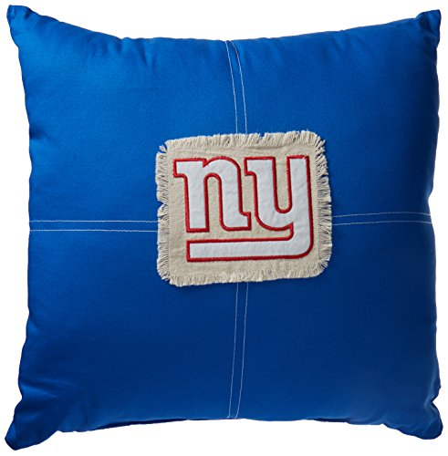 NFL New York Giants Letterman Pillow, 18