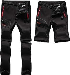 SANMIO Pantalon de Trekking Homme Pantalon Fonctio