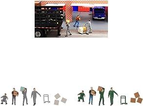 perfeclan 2 set 1 set 1/64 portier miniatyr arbetare människor figurer modell mänskliga figurer set