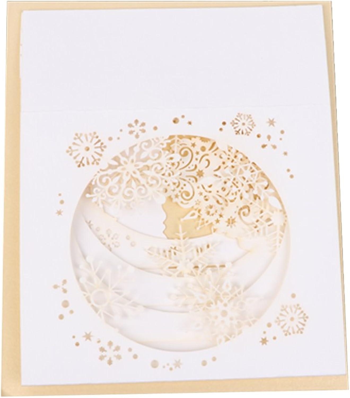 YOFO 1 Stück handgefertigte 3D Pop Up Baum Box Box Box Schneeflocke Grußkarte für Valentinstag Jahrestag Einladung Hochzeit Liebe Geschenke B07GZGLHYL    | Spielen Sie Leidenschaft, spielen Sie die Ernte, spielen Sie die Welt  721a80