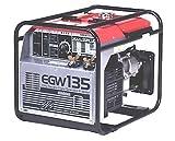 新ダイワ エンジン溶接機 EGW135 小型 軽量発電機ウエルダー